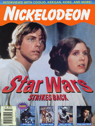 Nickelodeon magazine cover march 1997 star wars