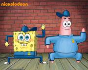 SpongeBob Dance Wallpaper