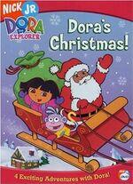 Dora the Explorer Dora's Christmas DVD 1