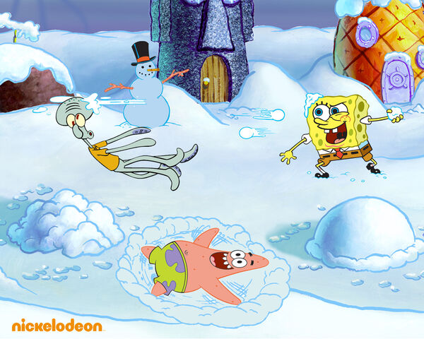 File:SpongeBob Snow Wallpaper.jpg