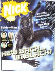 Nickelodeon Magazine cover May 2007 Spider-Man 3