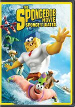 The SpongeBob Movie - Sponge Out of Water DVD