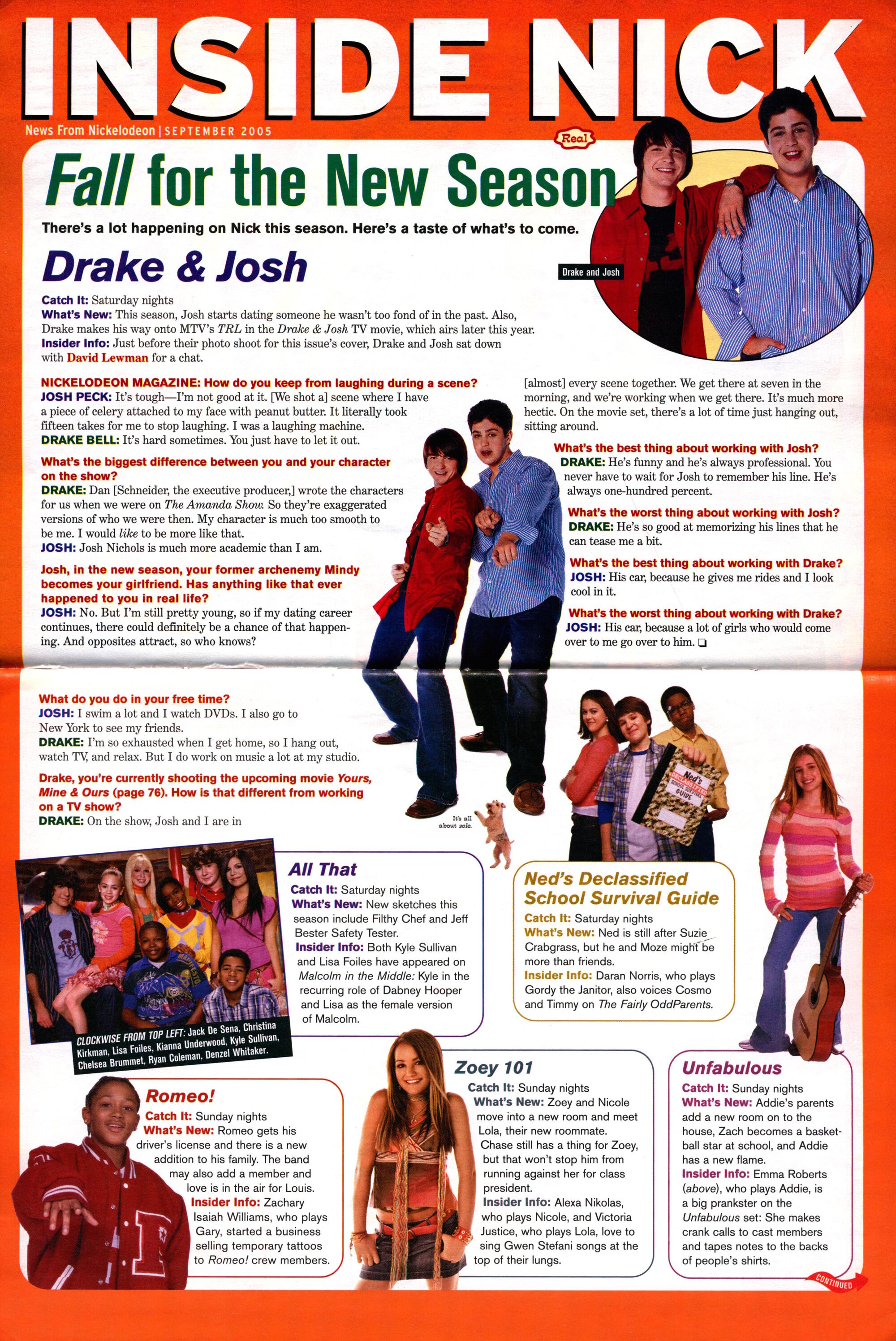 Drake & Josh | Nickelodeon | FANDOM powered by Wikia