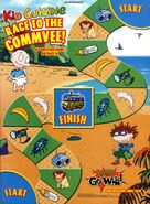 Rugrats go wild Kid Cuisine print ad NickMag June July 2003