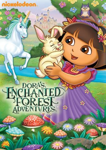 File:Dora the Explorer Dora's Enchanted Forest Adventures DVD.jpg