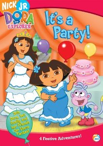 File:Dora the Explorer It's a Party! DVD.jpg