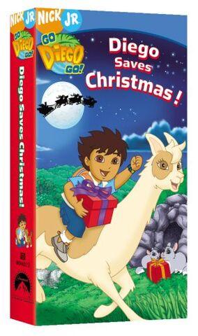 File:Go Diego Go! Diego Saves Christmas! VHS.jpg
