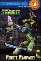 Teenage Mutant Ninja Turtles Robot Rampage! Book