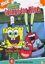 SpongeBob DVD - Sponge For Hire
