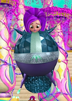 Shimmer and shine Zeta the sorceress Inflation full body