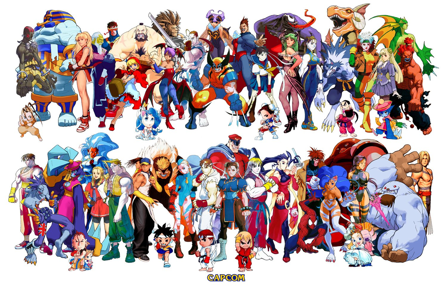 image   cap  roaster characters all street fighter