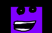 Purple Spongebob Animatronic