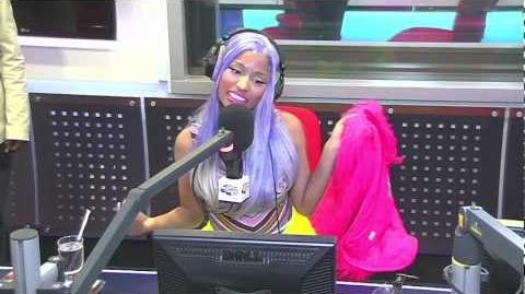 Nicki Minaj Interview With James Barr - Capital FM