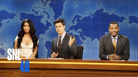 Weekend Update- Kim Kardashian - Saturday Night Live