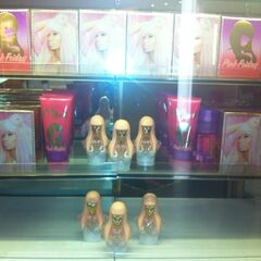 The Pink Friday merchandise on display at Macy's
