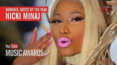 Nicki Minaj - YTMA Artist of the Year