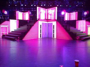 Nicki Concert Stage