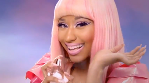 Pink Friday fragrance commercial