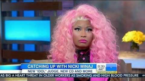 Nicki Minaj - Interview on Good Morning American (11 20 2012) (HD 720p)