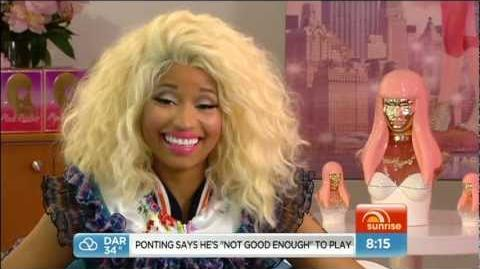 Nicki Minaj On The Today Show Australia (30 11 12)