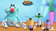 Oggy-coachroaches