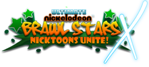 Ultimate nickelodeon brawl stars x logo by neweraoutlaw-d63yc9w