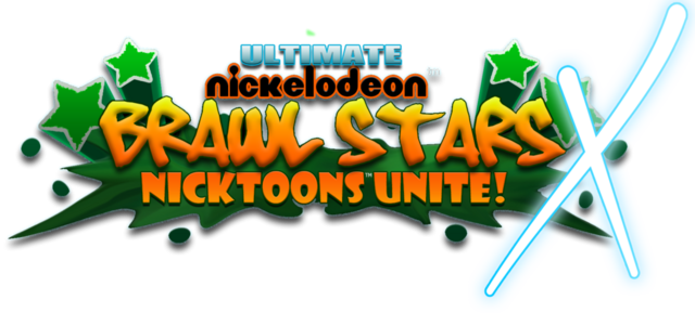 File:Ultimate nickelodeon brawl stars x logo by neweraoutlaw-d63yc9w.png