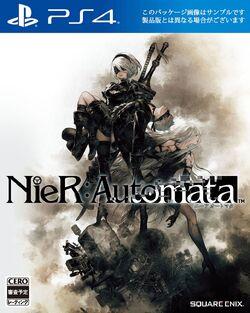 Nier Automata Cover JP