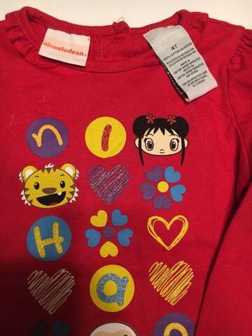 File:Nickelodeon Ni Hao Kai Lan Top Shirt Red Size 4T XS (2).jpg