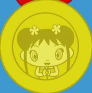 Kai-Lan's medal