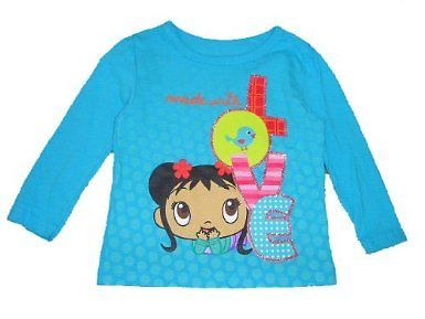 File:NI HAO, KAI-LAN Girls Blue Longsleeve Shirt NWT Size 12M, 3T or 5T.jpg