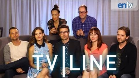 """""""Nikita"""" Cast Interview - Comic-Con 2013 - TVLine"""