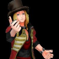 Dio holding Detonator