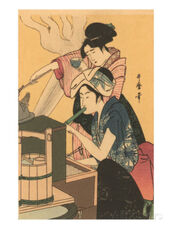 Japanese-woodblock-cooking