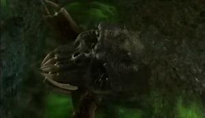Giant death worm