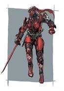 NG2 Art Char Ryu Costume 2 ShadowWalker A