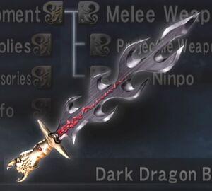 The Dark Dragon Blade
