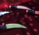 Four Silver Fangblades
