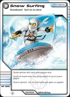 Snow surfin