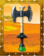 Departed Double-Bladed Axe