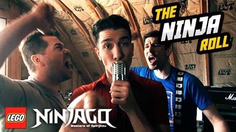"LEGO NINJAGO ""The Ninja Roll"" The Fold OFFICIAL VIDEO"