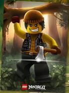 Lumberjack Cole Art