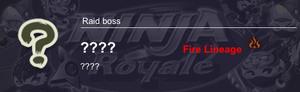 3rd unknown Raid Boss