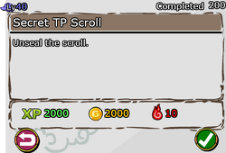 Secret TP Scroll