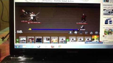Ninja Saga Kinjutsu Battle Soul Jutsu