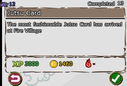 Jutsu Card
