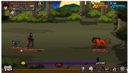 Fierce Cat battle 1