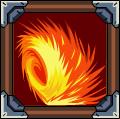 Fiery Spike Wheel
