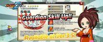 Guardian Skill Up!!