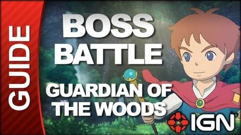 Ni No Kuni - Boss Battle Strategy Guardian of the Woods